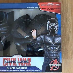 Marvel Black Panther costume